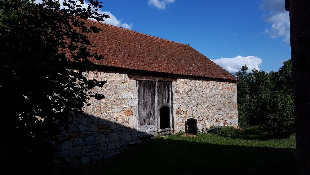 barn, Saint-Silvain-Bellegarde, Creuse